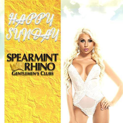 Happy Hour Sunday @ Spearmint Rhino