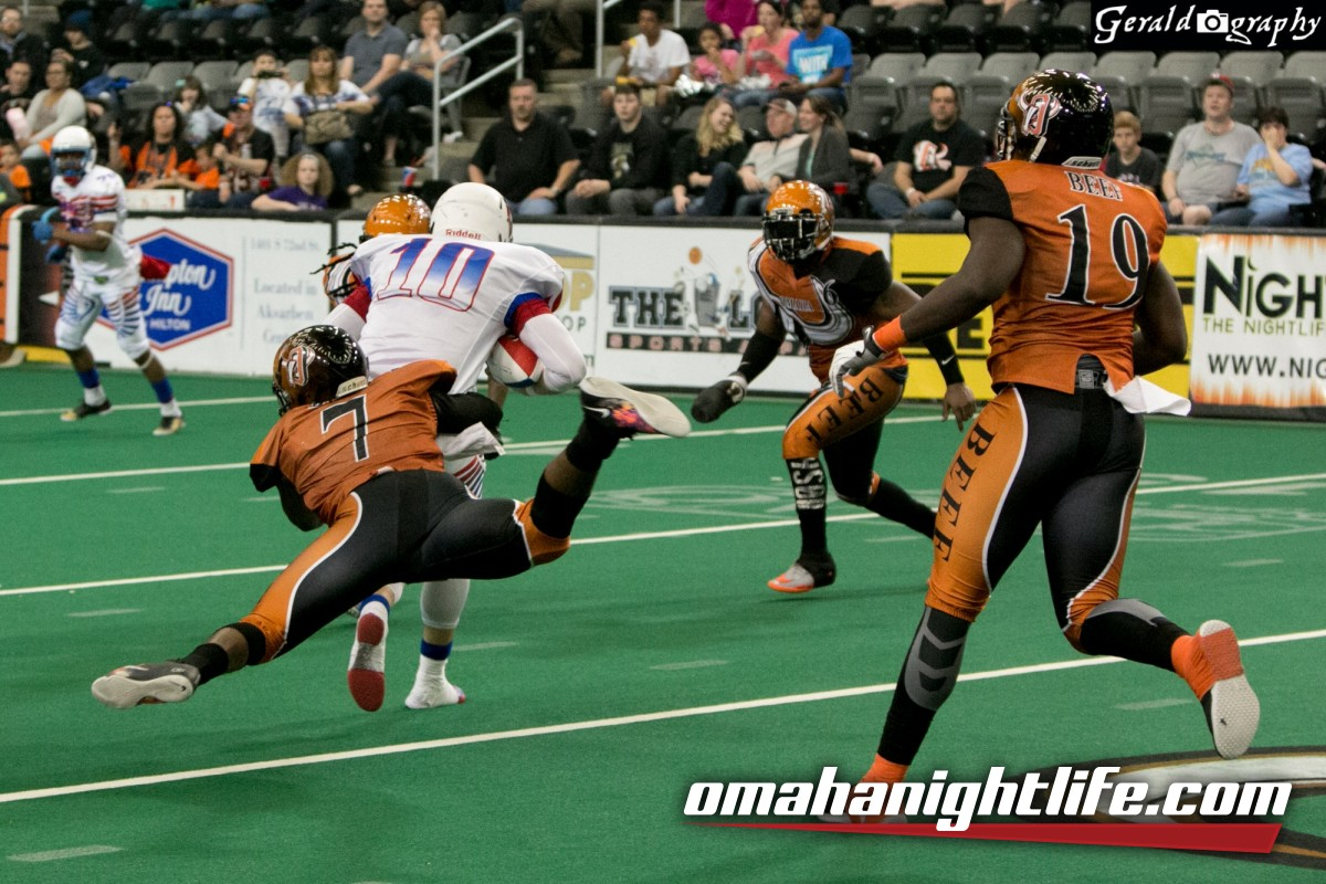 Omaha Beef / Chicago Eagles