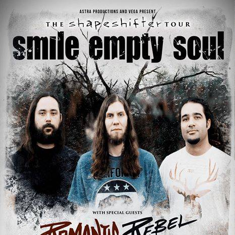 Smile Empty Soul, Romantic Rebel, Shallow Side, The Everyday Losers at Vega