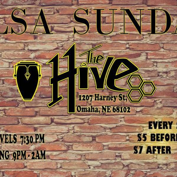 New Salsa Sunday's at The Hive