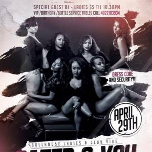 Dollhouse Ladies and Club Vibe Host: Cater 2 you
