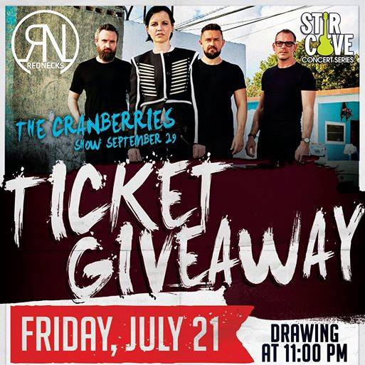 Ticket Giveaway: The Cranberries