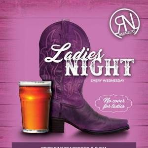 Ladies Night Every Wednesday