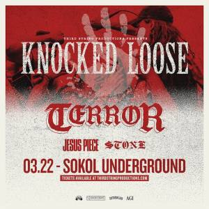 Knocked Loose, Terror, Jesus Piece at Sokol Underground
