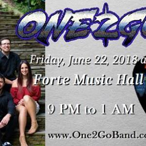 One2Go returns to Forte Music Hall!