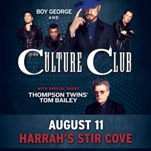 Boy George and the Culture Club!