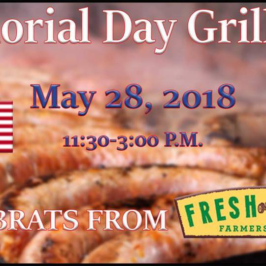 Memorial Day Grill-Out
