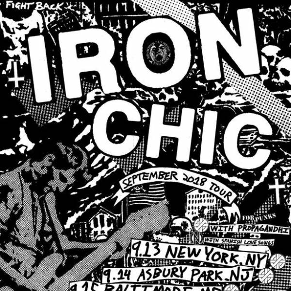 Iron Chic with Spanish Love Songs at Lookout Lounge