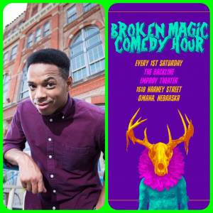 Troy Walker at The Broken Magic Comedy Hour